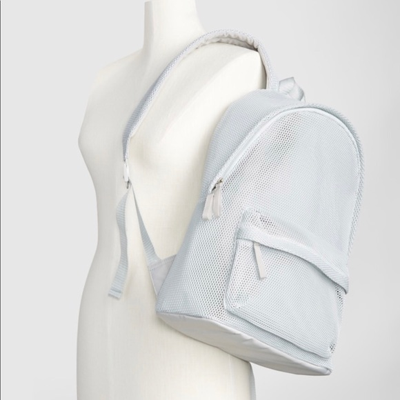 GAP Handbags - GapFit grey mesh bacpack